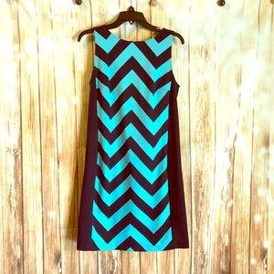 Michael Kors geometric dress size 10 US